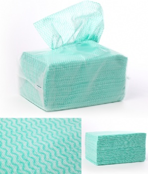 viscose polyester food service wipes in pack
