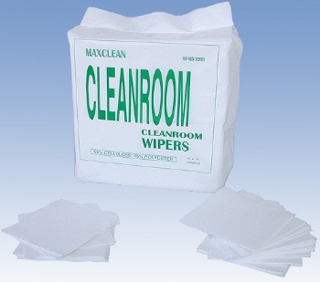 cellulose/woodpulp polyester cleanroom wipes